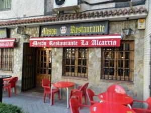 Mesón Restaurante La Alcarria