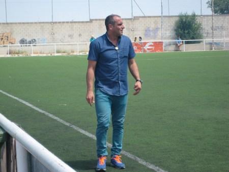 Óscar Fernández, entrenador del CD. Lugo  Fuenlabrada