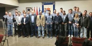 El Alcalde de Fuenlabrada recibe al Montakit