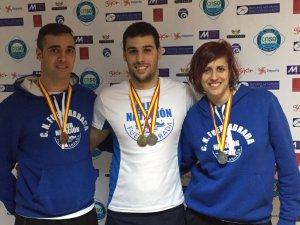 El Club Natación Fuenlabrada consigue diez medallas en Gijón