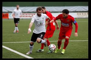 Dura derrota del CF. Fuenlabrada ante la SD. Gernika
