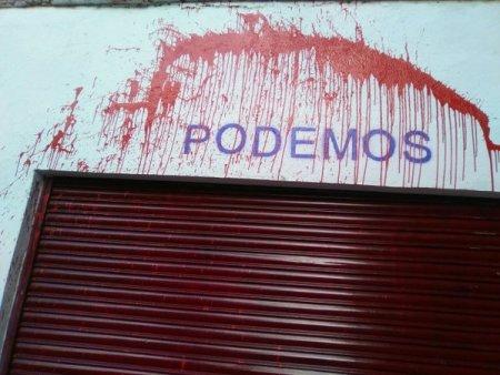 Agresión a Podemos