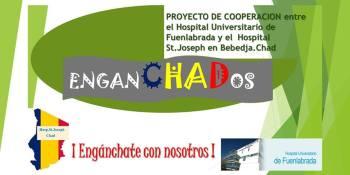 Sesión informartiva enganCHADos en el Hospital de Fuenlabrada