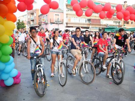 Bicicletada por la diversidad sexual