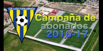 Campaña de abonados del CD. Lugo Fuenlabrada