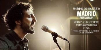 Marwan en concierto en el Teatro Josep Carreras