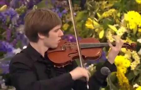 El joven violinista Sergei Maiboroda Foto: www.youtube.com