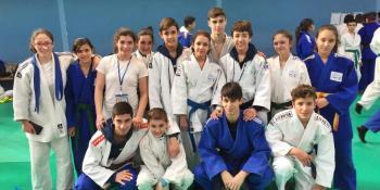 Buenos resultados del Club de Judo Lorkan en Hondarribia