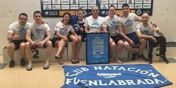 El Club Natación Fuenlabrada se trae tres oros de Mallorca