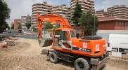 El Ayuntamiento comienza las obras de  45 nuevas plazas de aparcamiento en la calle Colombia