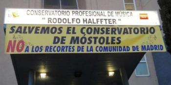 Conciertos protesta del Conservatorio Rodolfo Halffter de Móstoles