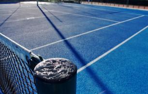 Finalizan las obras de renovación de las pistas de tenis de Fuenlabrada