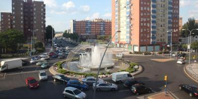Glorieta calle Leganés