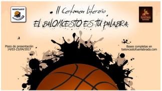 Convocatoria del II Certamen literario El Baloncesto es tu palabra