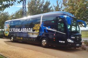 Autobús y entrada gratis para acompañar al CF. Fuenlabrada en Sestao