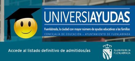 Las Universiayudas municipales ya están listas para su ingreso a los estudiantes