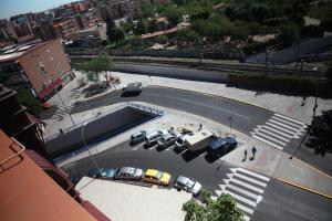 Acaban las obras sobre el puente de la calle Móstoles
