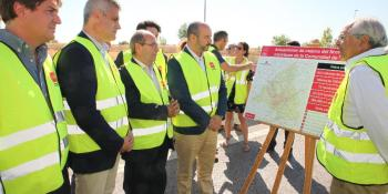 El alcalde exige nuevas mejoras en la M-506