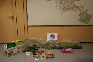 La Policía Local desarticula un grupo dedicado al tráfico de drogas