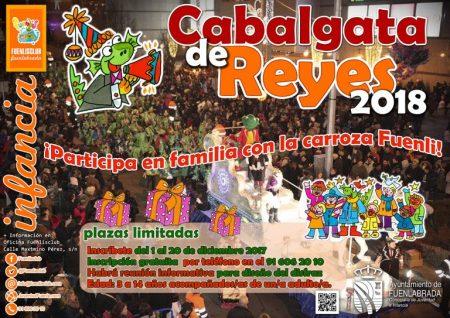 Participa con Fuenli en la Cabalgata de Reyes