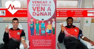 Dona sangre en el Hospital de Fuenlabrada y disfruta del baloncesto