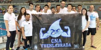 34 medallas en Valencia para el Club Natación Adaptada Fuenlabrada
