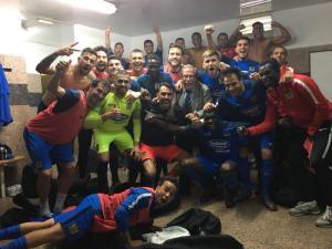 El CF Fuenlabrada hace historia y ya es equipo de playoff
