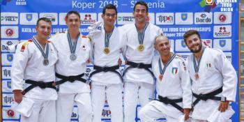 Medalla de plata para Goicoechandía y Villar en el Campeonato de Europa
