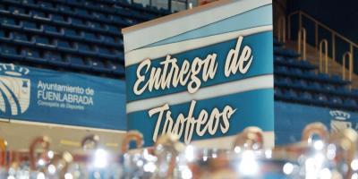Entrega de trofeos de las Ligas Municipales y Escolares 2017-2018
