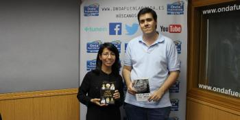 Rosa Mercedes Pérez y Carlos Armillas en nuestra sección de Entrelíneas Editores