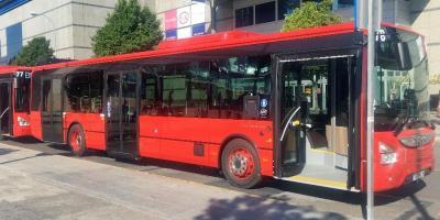 Fuenlabrada presenta seis autobuses para renovar la flota de la EMT