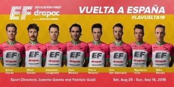 Dani Moreno disputará su décimo segunda Vuelta a España