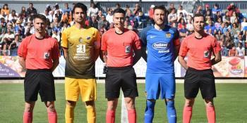 Iribas mira con optimismo su tercera temporada en el CF. Fuenlabrada