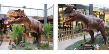 Los dinosaurios tomarán el Centro Comercial Plaza Loranca 2