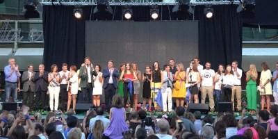 La candidatura de Fuenlabrada como Ciudad Europea del Deporte 2019 muy presente en el Pregón de Fiestas