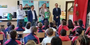 Campaña Los Peques Recicladores para los centros de primaria de Fuenlabrada