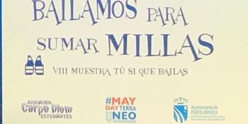 """Final de la VIII muestra de baile solidario 'Tú sí que bailas"""""""