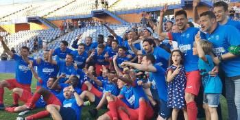 El CF. Fuenlabrada es de Segunda División
