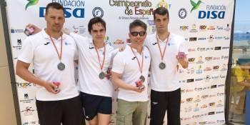 Lluvia de medallas para el CNA Fuenlabrada en el Campeonato de España