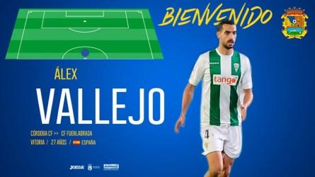 El CF. Fuenlabrada ficha al centrocampista Álex Vallejo