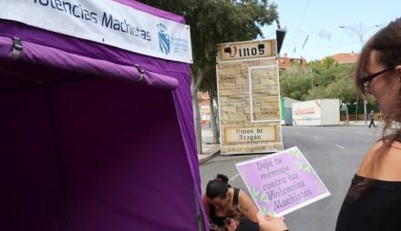 Las Fiestas contarán con dos puntos violetas contra las violencias machistas