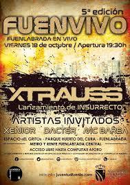 """5ª edición del festival de música urbana """"Fuenvivo"""" con Xtrauss"""