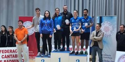 Dani Sánchez se alza con el triunfo en el Master Absoluto de bádminton