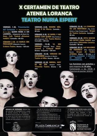 X edición del Certamen de Teatro Atenea de Loranca