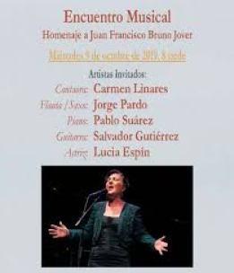 Homenaje a Juan Francisco Bruno Jover en Fuenlabrada