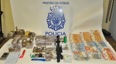 La Policía detiene a cuatro personas en Fuenlabrada por tráfico de drogas