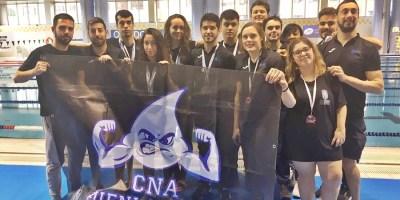 El CNA Fuenlabrada concluye el 2019 con 14 medallas