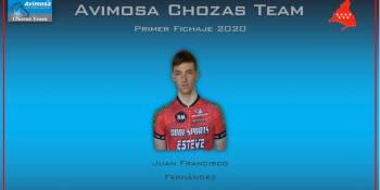 Juanfran Fernández renueva por el Avimosa Chozas Team