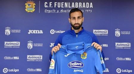 El Fuenla también logra la cesión de José Rodríguez hasta final de temporada