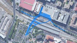 Presentado el proyecto para integrar la vía del tren en la ciudad